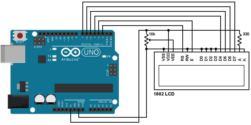 Arduino LCD Example - Simple Arduino Projects