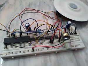 PIC18F4550 L293D BLDC ESC circuit