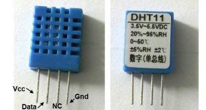 DHT11 pins