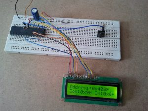 PIC18F4550 Extended NEC decoder hardware circuit