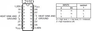 L293D for BLDC motor
