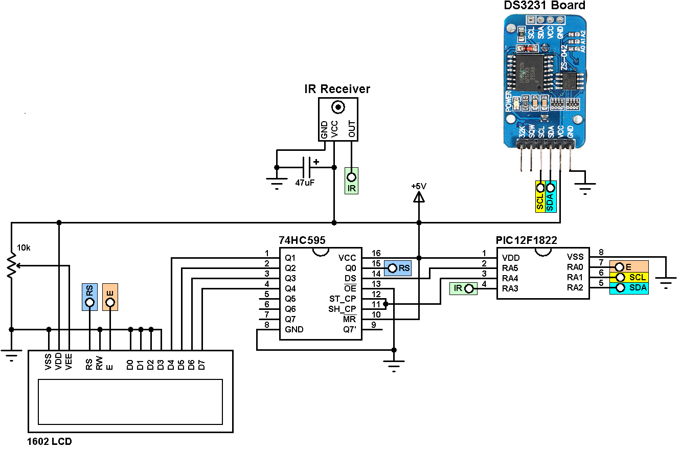 X Led Matrix Interface With Arduino Breadboard Circuit moreover Hqdefault besides B F B besides  also Large. on remote control circuit diagram