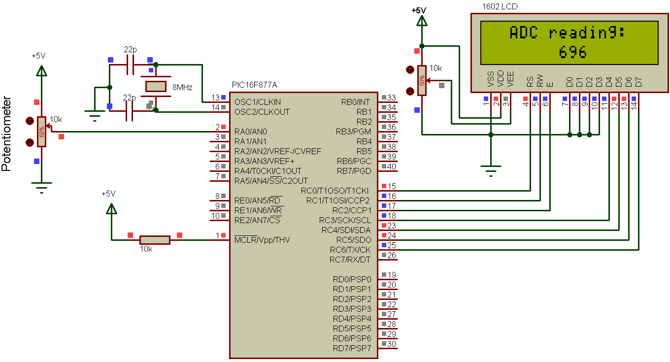 Pic Microcontrollers Analog To Digital Conversion Adc