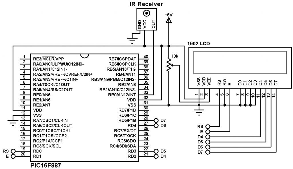 nec remote control decoder with pic16f887 and mikroc compiler