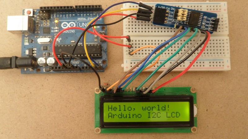 Interfacing Arduino with I2C LCD - Arduino Projects