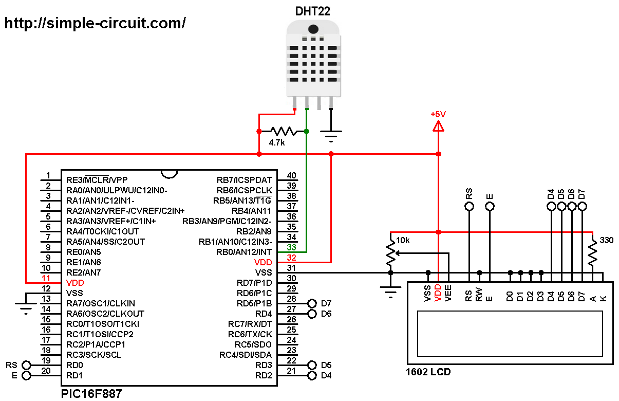 Interfacing Dht22 Sensor With Pic Microcontroller Mplab