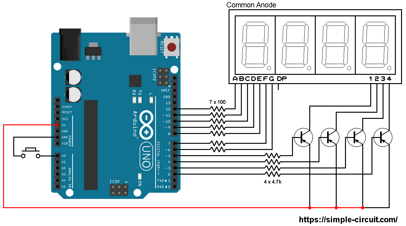 Remarkable Arduino Seven Segment Display Wiring Diagram General Wiring Wiring Database Gramgelartorg