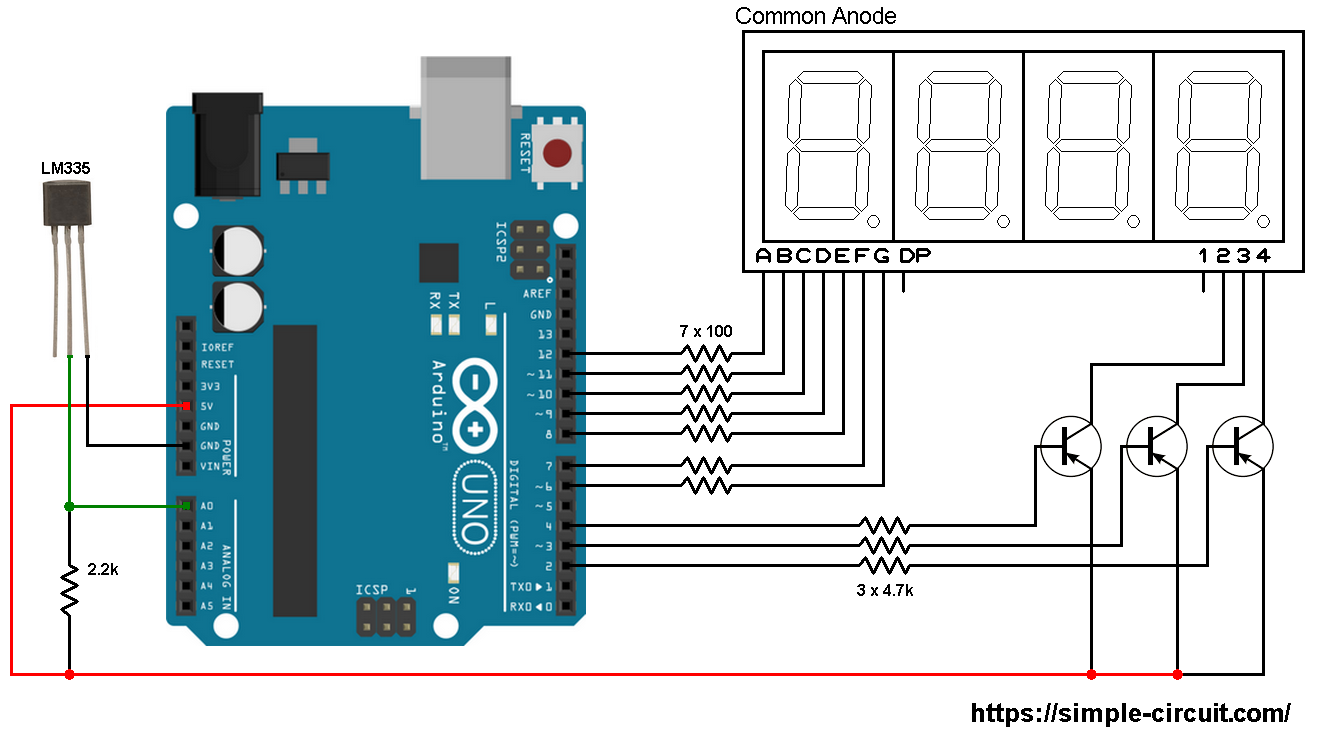 Arduino Uno Circuit Diagram Breadboard How Does Current Flow Through