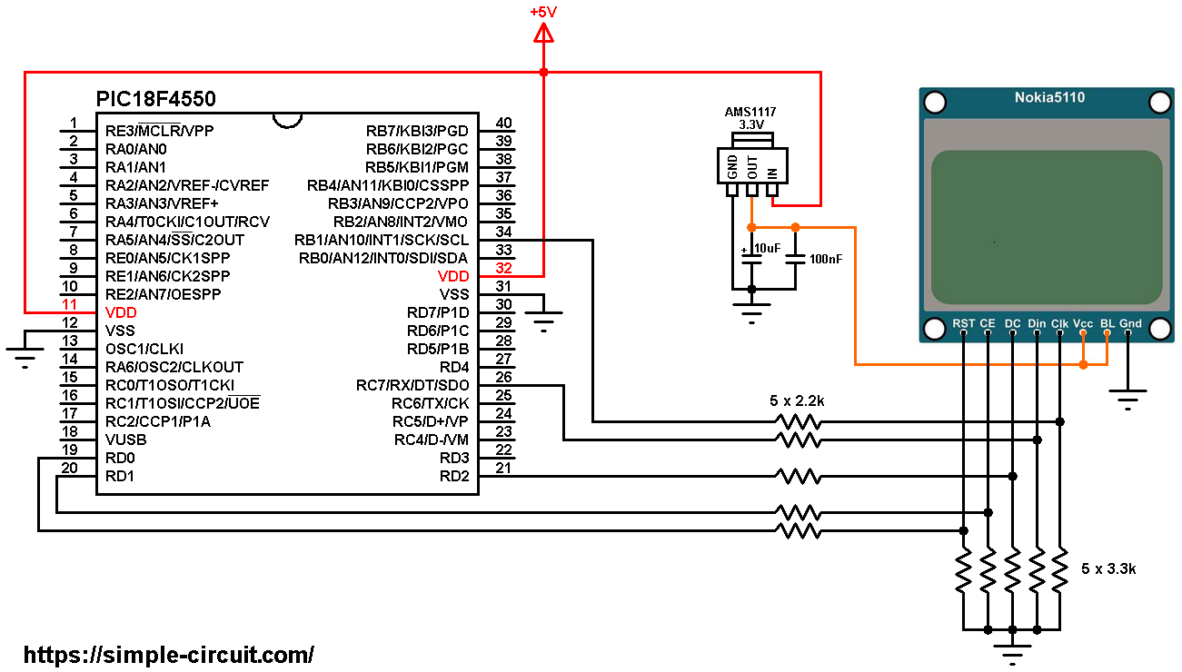 Lcd Arduino Circuit Diagram