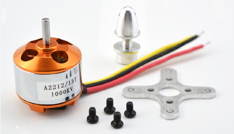 Quadcopter brushless motor A2212/13T 1000KV