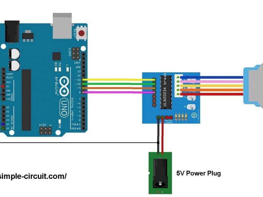 Arduino stepper motor rotary encoder control