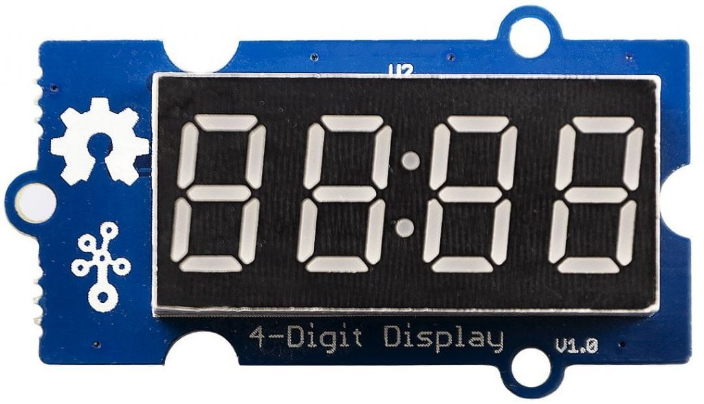 Seeed Studio Grove 4-digit 7-segment display TM1637