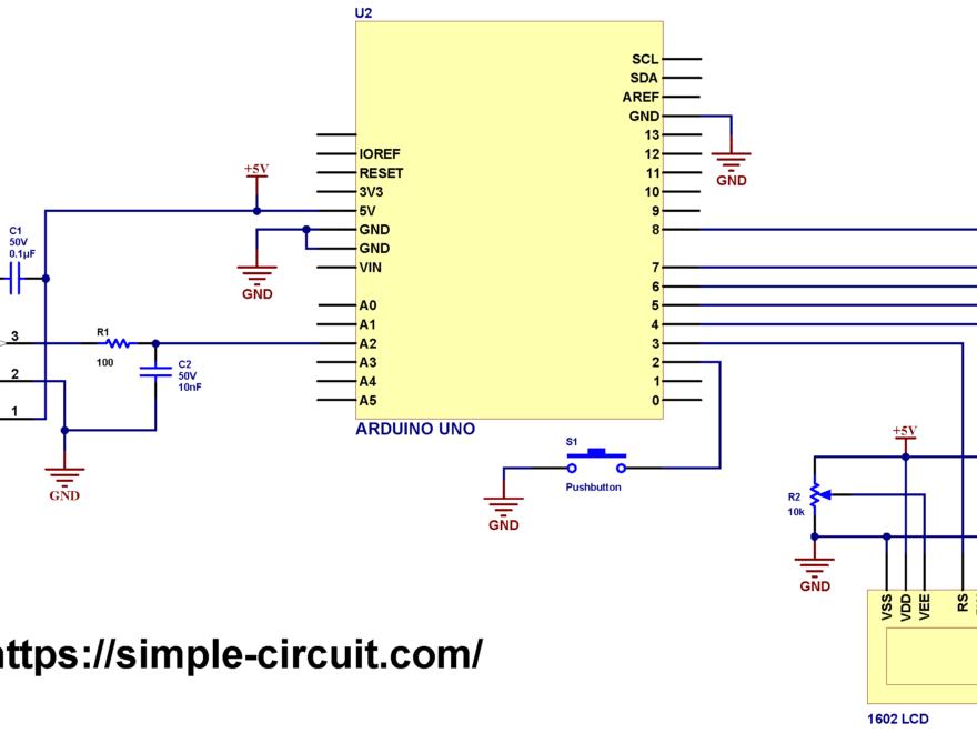 Interfacing Arduino ACS770 ACS758 AC DC current sensor circuit with LCD